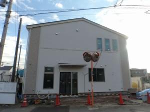 寄宿舎併用店舗新築工事